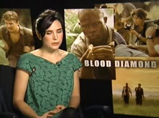 JENNIFER CONNELLY (BLOOD DIAMOND)- Interview Video Thumbnail