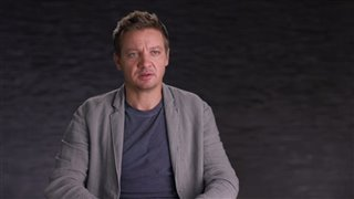 Jeremy Renner Interview - Arrival Video Thumbnail