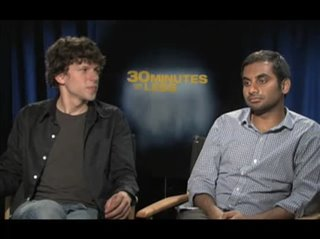 jesse-eisenberg-aziz-ansari-30-minutes-or-less Video Thumbnail