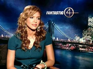 JESSICA ALBA - FANTASTIC FOUR- Interview Video Thumbnail