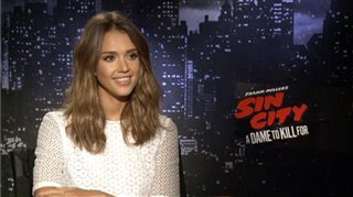 Jessica Alba (Sin City: A Dame to Kill For)- Interview Video Thumbnail