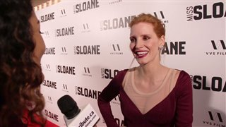 Jessica Chastain - Miss Sloane Red Carpet Interview Video Thumbnail