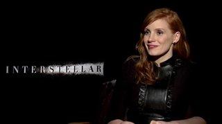 Jessica Chastain (Interstellar) - Interview Video Thumbnail