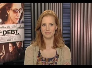jessica-chastain-the-debt Video Thumbnail