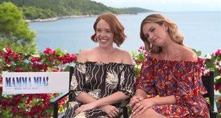 jessica-keenan-wynn-lily-james-talk-mamma-mia-here-we-go-again Video Thumbnail