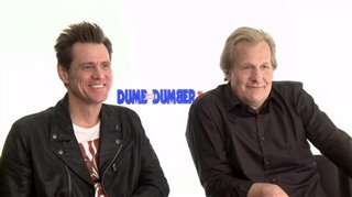Jim Carrey & Jeff Daniels (Dumb and Dumber To)- Interview Video Thumbnail