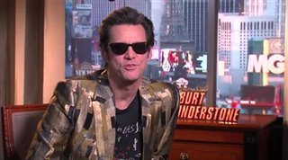 Jim Carrey (The Incredible Burt Wonderstone)- Interview Video Thumbnail