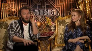 Joel Edgerton & Isla Fisher (The Great Gatsby)- Interview Video Thumbnail
