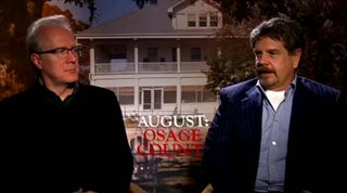 John Wells & Tracy Letts (August: Osage County)- Interview Video Thumbnail
