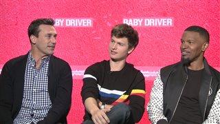 jon-hamm-ansel-elgort-jamie-foxx-interview-baby-driver Video Thumbnail