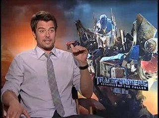 Josh Duhamel (Transformers: Revenge of the Fallen)- Interview Video Thumbnail
