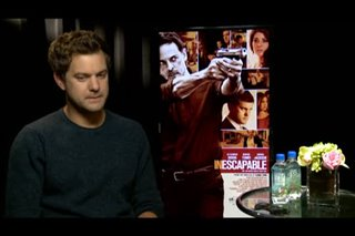 Joshua Jackson (Inescapable) - Interview Video Thumbnail