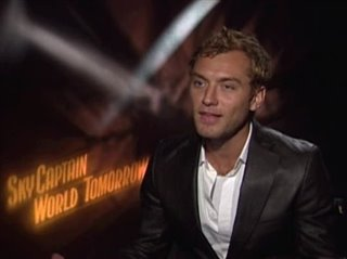 JUDE LAW - SKY CAPTAIN AND THE WORLD OF TOMORROW - Interview Video Thumbnail