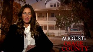 Julia Roberts (August: Osage County)- Interview Video Thumbnail