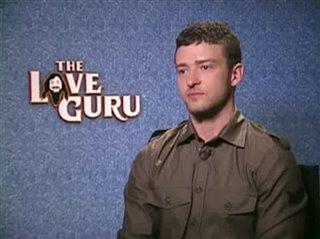 Justin Timberlake (The Love Guru) - Interview Video Thumbnail