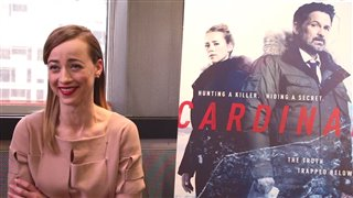karine-vanasse-interview-cardinal Video Thumbnail