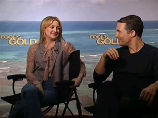 Kate Hudson & Matthew McConaughey (Fool's Gold) - Interview Video Thumbnail