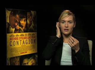 Kate Winslet (Contagion)- Interview Video Thumbnail