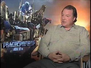 Kevin Dunn (Transformers: Revenge of the Fallen)- Interview Video Thumbnail