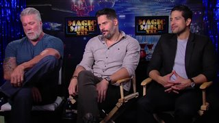 Kevin Nash, Joe Manganiello & Adam Rodriguez Interview - Magic Mike XXL Video Thumbnail
