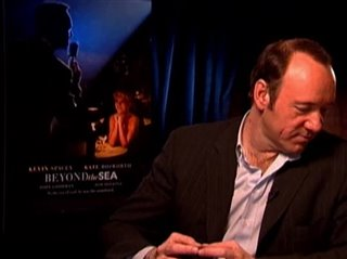 KEVIN SPACEY - BEYOND THE SEA- Interview Video Thumbnail