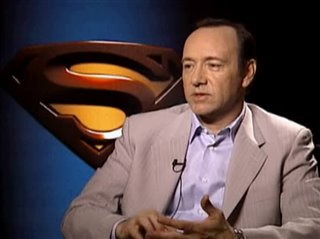 KEVIN SPACEY (SUPERMAN RETURNS)- Interview Video Thumbnail