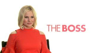 Kristen Bell Interview - The Boss Video Thumbnail