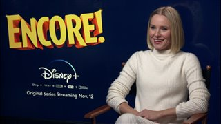 Kristen Bell talks about hosting exciting new show Encore!- Interview Video Thumbnail