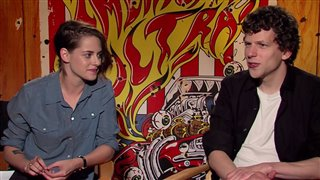 Kristen Stewart & Jesse Eisenberg - American Ultra- Interview Video Thumbnail