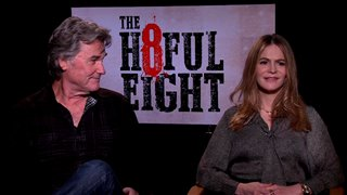 Kurt Russell & Jennifer Jason Leigh - The Hateful Eight- Interview Video Thumbnail