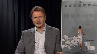 Liam Neeson (Third Person) - Interview Video Thumbnail