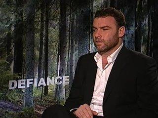 Liev Schreiber (Defiance) - Interview Video Thumbnail