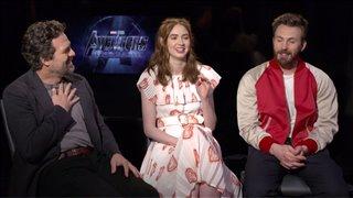 Mark Ruffalo, Karen Gillan and Chris Evans talk 'Avengers: Endgame' - Interview Video Thumbnail