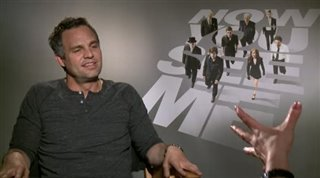 Mark Ruffalo (Now You See Me)- Interview Video Thumbnail