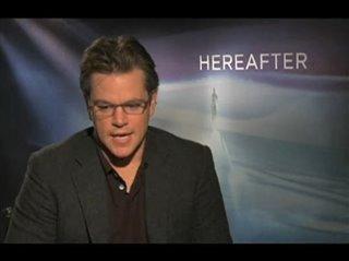 Matt Damon (Hereafter) - Interview Video Thumbnail