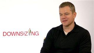 Matt Damon Interview - Downsizing Video Thumbnail