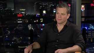 Matt Damon Interview - Jason Bourne Video Thumbnail