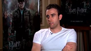 Matthew Lewis (Harry Potter and the Deathly Hallows: Part 2)- Interview Video Thumbnail