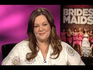 Melissa McCarthy (Bridesmaids) - Interview Video Thumbnail