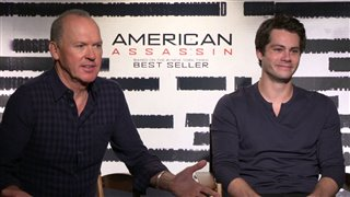 michael-keaton-dylan-obrien-interview-american-assassin Video Thumbnail