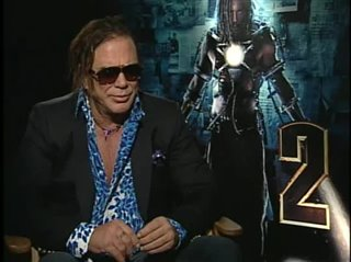 Mickey Rourke (Iron Man 2)- Interview