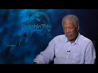 Morgan Freeman (Dolphin Tale) - Interview Video Thumbnail