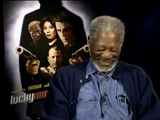 MORGAN FREEMAN (LUCKY NUMBER SLEVIN) - Interview Video Thumbnail
