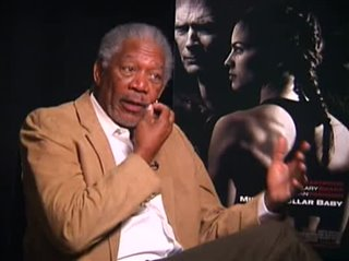 MORGAN FREEMAN - MILLION DOLLAR BABY - Interview Video Thumbnail