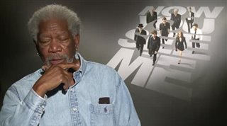 Morgan Freeman (Now You See Me) - Interview Video Thumbnail