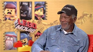 Morgan Freeman (The LEGO Movie) - Interview Video Thumbnail