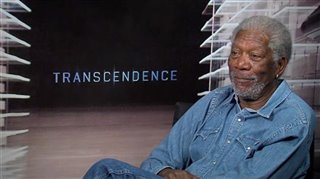 Morgan Freeman (Transcendence) - Interview Video Thumbnail