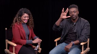 Newcomer David Ajala on joining 'Star Trek: Discovery' - Interview Video Thumbnail