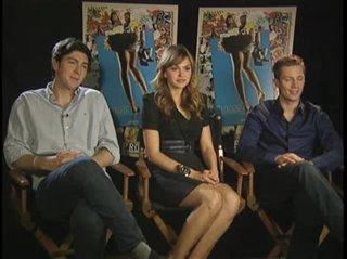 Nicholas Braun, Aimee Teegarden & Jonathan Keltz (Prom) - Interview Video Thumbnail