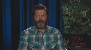 Nick Offerman (The Kings of Summer) - Interview Video Thumbnail